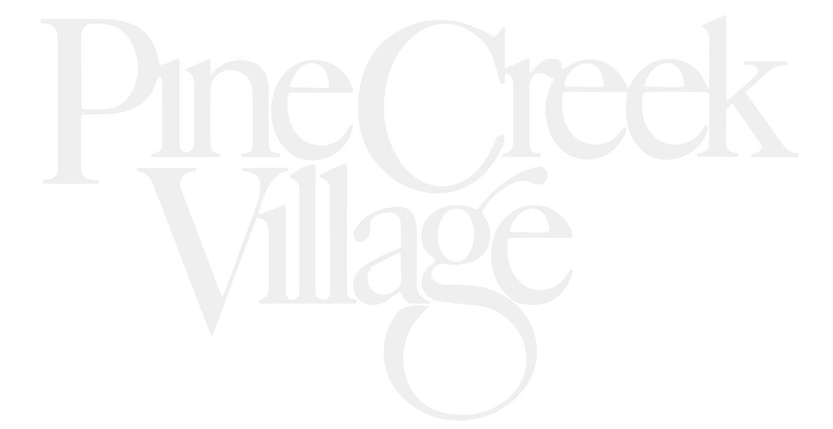 Pinecreek Village Apartments Logo